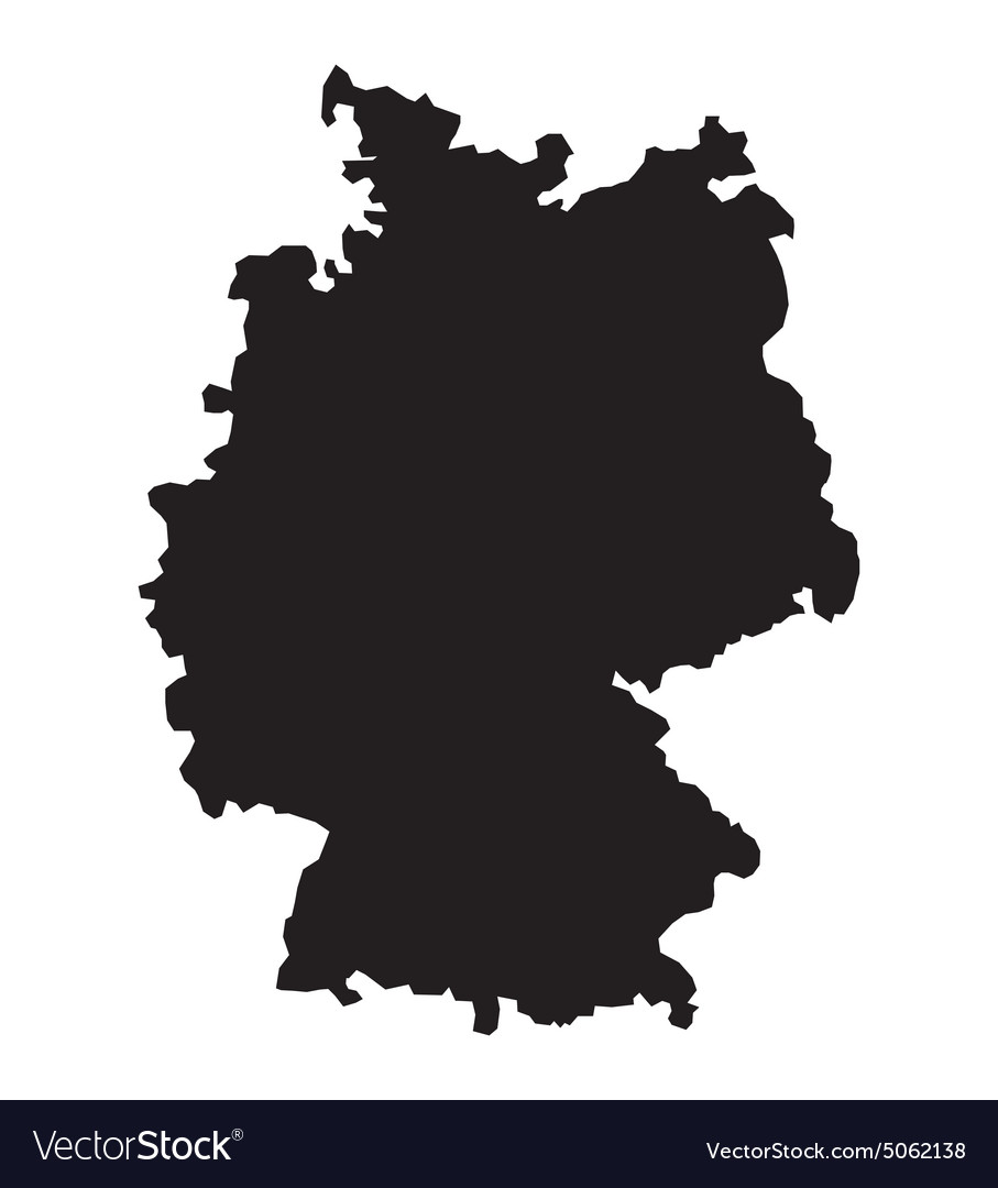 Germany map2 resize vector
