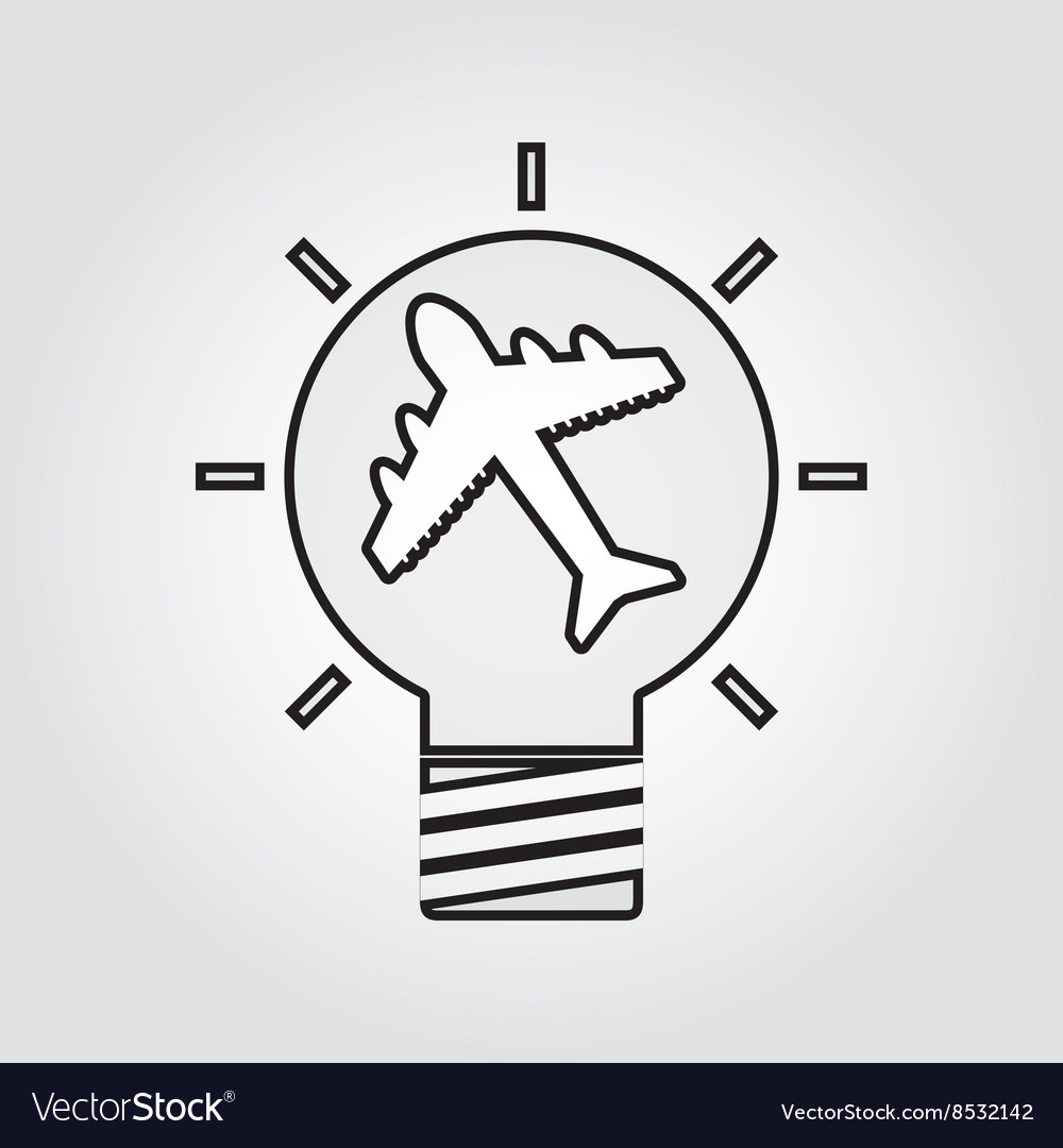 Best idea icon design vector