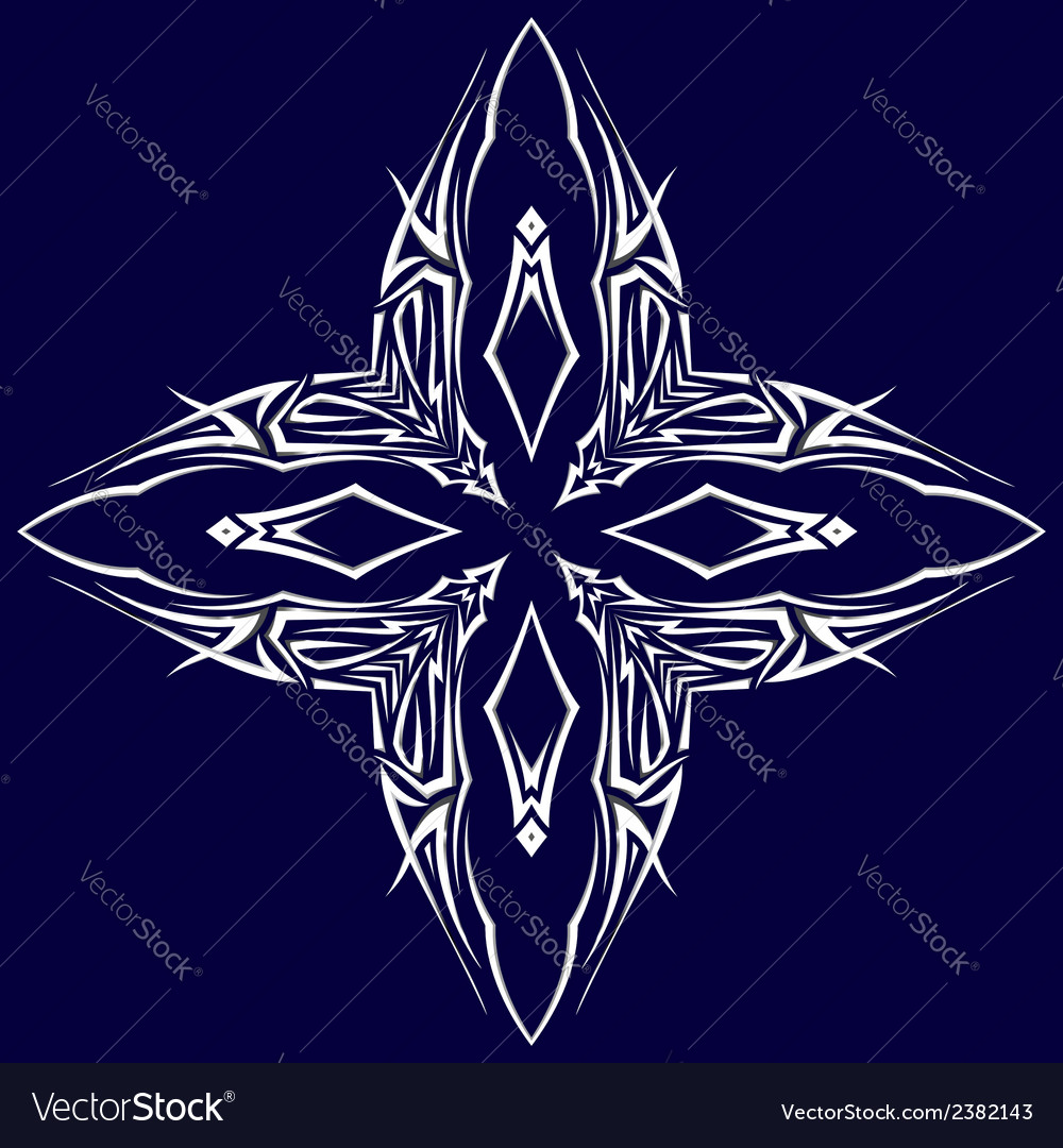 Tatto shuriken vector