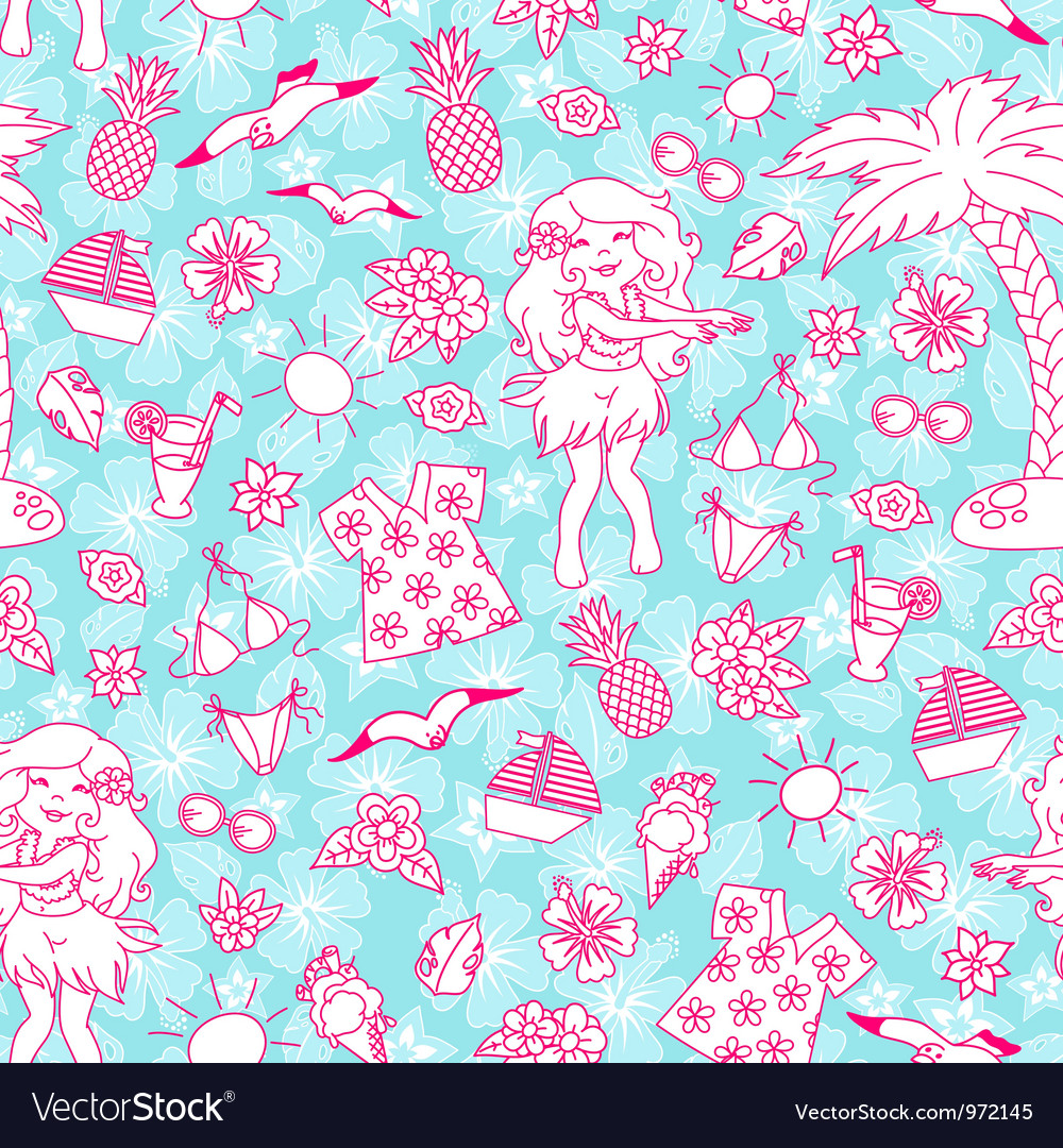 Tropical pattern vector