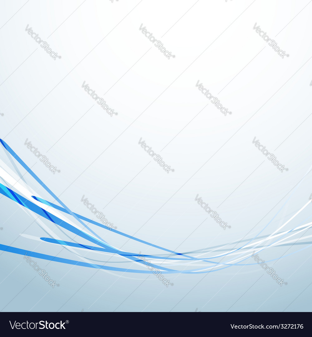 Blue speed lines business abstract background vector