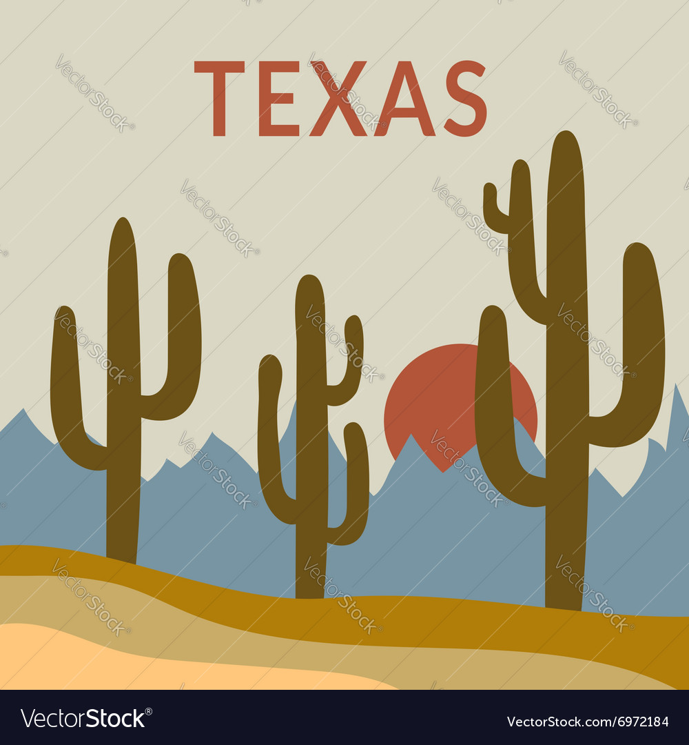 Texas tshirt design vector