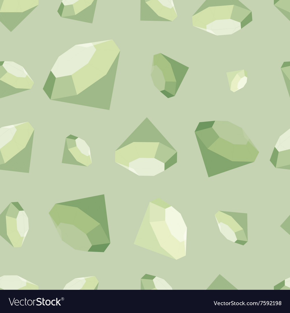Flat diamonds seamless pattern vector