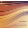 Orange Violet Wave Abstract Background vector image vector image