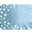 winter background z vector image vector image