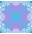 Decorative Lacy Frame vector image