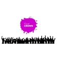 People concert crowd vector image