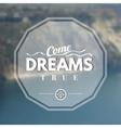Dream logo vector image