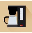 Espresso coffee machine icon vector image