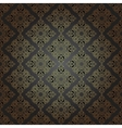 Seamless pattern in mosaic ethnic style vector image
