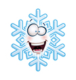 Snowflake Head HA vector image