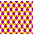 Orange Purple White Water Drops Background vector image