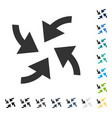 cyclone arrows icon vector image