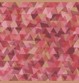 Abstract background with geometry red tone vector image