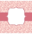 Cute Pink Frame vector image