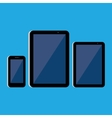 tablet and phone vector image