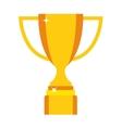 Champion cup icon vector image