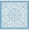 Light blue scarf design vector image