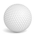 Golf Ball vector image vector image