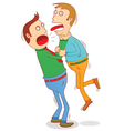 Strangling other vector image