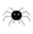 cartoon image of a spider isolated object vector image
