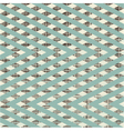 Zig zag patchwork pattern vector image vector image