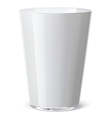 Milk glass vector image vector image