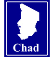 Chad vector image vector image