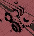 machine vector image vector image
