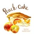 watercolor sketch vector image vector image