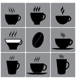types of cups vector image