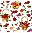 Summer seamless pattern bakground vector image