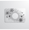 visiting card vector image vector image