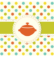 Food background 2 vector image
