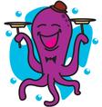 Circus Octopus vector image