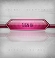 Sign In Button vector image