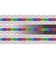 Rainbow Hologram vector image