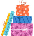 Presents composition vector image vector image