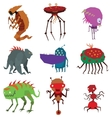 Aliens monsters vector image