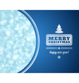 Christmas light background vector image vector image