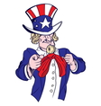 Uncle Sam3 resize vector image
