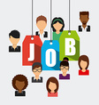 search job vector image