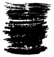 black brush stroke vector image