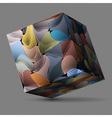 Colorful cube vector image