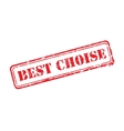 Best choise collection rubber stamp vector image vector image