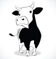 cow 2 vector image