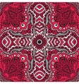 seamless red pattern of spirals swirls vector image vector image