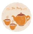 tea party vector image