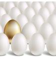 Gold Egg Concept vector image