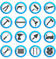 Home repair and renovation icon set vector image